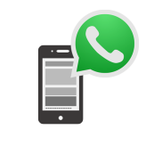 Bestellungen per WhatsApp